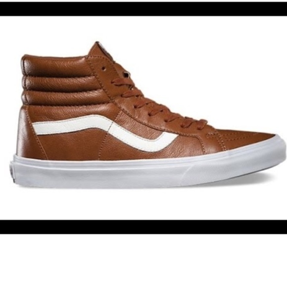 652f5f413e95 Leather High Top Vans. M 5ae54d3f05f430633d9238c0
